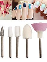 cheap -Ceramic Nail Drill Bit Diamond Electric Manicure Cutter Machine Rotate Remove Head Accessories Nail Art Tools