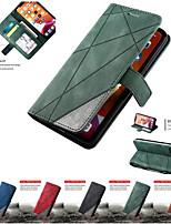 cheap -Leather Case For iPhone 11 11Pro 11Pro Max SE 2020 X XS XR XS Max 8Plus 8 7Plus 6Plus 6 Wallet Flip Cover Magnet Colorblock Phone Bag