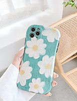cheap -Case For Apple iPhone 7 8 7plus 8plus X XR XS XSMax SE(2020) iPhone 11 11Pro 11ProMax Shockproof  Pattern Back Cover Cartoon  Flower TPU