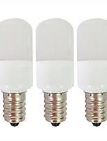 cheap -3pcs 1.5 W LED Globe Bulbs 80 lm E14 T22 9 LED Beads SMD 2835 Warm White White 180-265 V