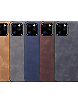 cheap -Case For Apple iPhone 7/8/7P/8P/X/XS/XR/XS Max/11/11 Pro/11 Pro Max Shockproof Back Cover Solid Colored PU Leather / TPU