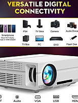 cheap -LITBest T60 LED Projector 220 lm Android Support