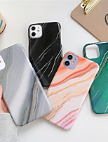 cheap -Case For Apple iPhone 7/8/7P/8P/X/XS/XR/XS Max/11/11 Pro/11 Pro Max/SE 2020 Shockproof Back Cover Marble Plastic