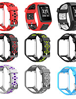 cheap -Replacement Silicone Band Strap for TomTom Runner 2 3 Silicone Replacement Watchband Wrist Band Strap for TomTom Runner 2 TomTom Runner 3