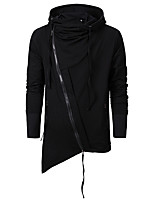 cheap -Plague Doctor Vintage Gothic Masquerade Hoodie Men's Costume Black Vintage Cosplay Event / Party Long Sleeve