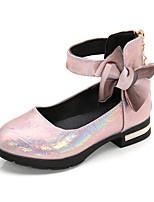 cheap -Girls' Comfort PU Sandals Little Kids(4-7ys) / Big Kids(7years +) Bowknot Pink / Brown Summer / Fall