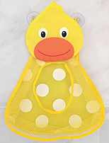 cheap -Bathroom Toy Bag Children's Storage Hanging Strong Sucker suction cups Duck Frog waterproof net Wall pockets
