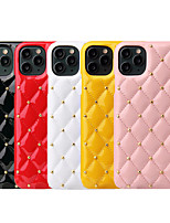 cheap -Case For Apple iPhone 7/8/7P/8P/X/XS/XR/XS Max/11/11 Pro/11 Pro Max/SE 2020 Shockproof Back Cover Solid Colored PU Leather