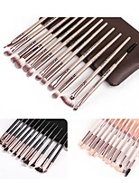 cheap -Professional Makeup Brushes 12pcs Soft Plastic for Foundation Brush Eyeshadow Brush Makeup Brush Set