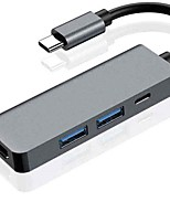 cheap -USB C 4 in 1Type-C Hub Docking Station Usb-c to HDMI usb3.0 with Pd Charging Head Expansion Hub