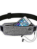 cheap -Running Belt Fanny Pack Belt Pouch / Belt Bag for Running Hiking Outdoor Exercise Traveling Sports Bag Adjustable Waterproof Portable Lycra® Men's Women's Running Bag Adults