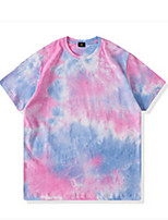 cheap -Kids Boys' Basic Tie Dye Short Sleeve Tee Red