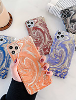 cheap -Case For Apple iPhone 7/8/7P/8P/X/XS/XR/XS Max/11/11 Pro/11 Pro Max/SE 2020 Shockproof / Pattern Back Cover Marble Plastic