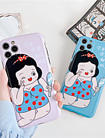 cheap -Case For Apple iPhone 11 Pro / iPhone 11 Pro Max / iPhone XR Shockproof / Dustproof / IMD Back Cover Sexy Lady / Cartoon / 3D Cartoon TPU