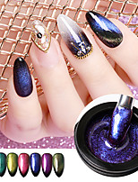 cheap -Alpha Gum Manicure Environment Protection 8g Cat's Eye Phototherapy Nail Oil Glue Magic Black Hole Glue