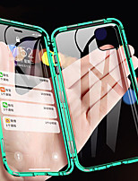 cheap -Case For Apple iPhone 11 / iPhone 11 Pro / iPhone 11 Pro Max Shockproof / Transparent Full Body Cases Transparent Tempered Glass