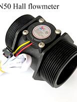 cheap -Water Flow Sensor - YF-DN50 G2 inch Water Flow Hall Sensor Switch Flow Meter Flowmeter Counter 10-300 L/min