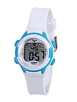 cheap -Kids Sport Watch Automatic self-winding PU Leather White Water Resistant / Waterproof Analog Cartoon - White