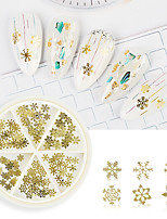 cheap -1 pcs Universal / Ergonomic Design / Creative Metalic Sequins For Finger Nail Creative Butterfly nail art Manicure Pedicure Party / Evening / Daily / Festival Stylish / European