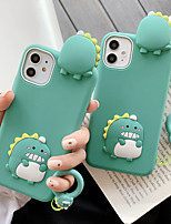 cheap -3D Cute Cartoon Dinosaur Case for iPhone XS 11 Pro Max se 2020 XR X 6 6S 7 8 Plus Kawaii Soft Silicone Rubber Back Cover Shell Fundas