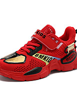 cheap -Boys' Comfort Mesh Trainers / Athletic Shoes Little Kids(4-7ys) / Big Kids(7years +) Running Shoes / Walking Shoes Black / Red / Blue Summer / Fall / Color Block