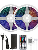 cheap -MASHANG LED Strip Lights 32.8ft 10M RGB Tiktok Lights Waterproof 300LEDs SMD 5050 with 44 Keys IR Remote Controller and 100-240V Adapter for Home Bedroom Kitchen TV Back Lights DIY Deco