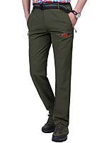 cheap -Men's Hiking Pants Hiking Cargo Pants Summer Outdoor Standard Fit Breathable Quick Dry Sweat-wicking Spandex Pants / Trousers Bottoms Hunting Fishing Climbing Army Green Grey Dark Blue M L XL XXL XXXL