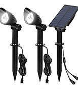 cheap -Spotlight 1 Drag 2 Home Yard Lawn Light LED Small Street Light Solar Outdoor Light