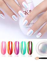cheap -1 pcs Creative / Durable Glitter Glitter Powder For Finger Nail Creative nail art Manicure Pedicure Party / Evening / Daily Rock / Hyperbole