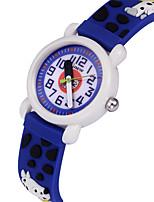 cheap -Kids Sport Watch Automatic self-winding Silicone Ocean Blue Water Resistant / Waterproof Analog Cartoon - Blue