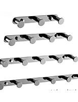 cheap -Modern Bathroom Punch-free Clothes Hook Stainless Steel Towel Hook Bathroom Coat Hook Wall Hook