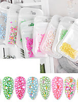 cheap -1 pcs Universal / Water Resistant / Color-Changing Resin Rhinestones For Finger Nail Creative nail art Manicure Pedicure Party / Evening / Daily / Festival Trendy / Fashion