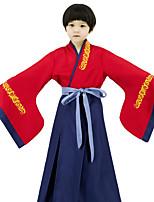 cheap -Mulan Cosplay Costume Girls' Movie Cosplay Classical Red Skirt Halloween Terylene