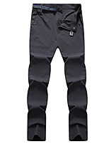 cheap -Men's Hiking Pants Summer Outdoor Loose Breathable Quick Dry Sweat-wicking Comfortable Cotton Pants / Trousers Bottoms Black Grey Hunting Fishing Climbing L XL XXL XXXL 4XL - DZRZVD®