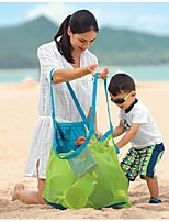 cheap -Beach Bag Mesh Stay Away From Sand Durable Indoor Outdoor Portable Hand Swimming Sport Toys Storage For Children Kids
