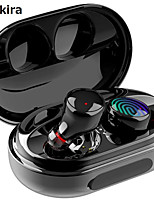 cheap -CARKIRA C5 TWS True Wireless Earbuds Wireless Bluetooth 5.0 Stereo with Microphone with Volume Control HIFI with Charging Box for Sport Fitness