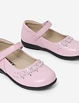 cheap -Girls' Flats Comfort PVC Little Kids(4-7ys) White / Black / Pink Summer