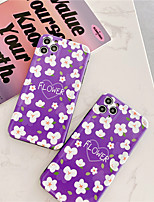 cheap -Phone Case For iPhone 11 Pro Max XR XS Max se 2020 7 8 Plus X Dream Conch Retro Flower Soft IMD Full Body Back Cover Gift