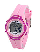 cheap -Kids Sport Watch Automatic self-winding PU Leather Water Resistant / Waterproof Analog Cartoon Fashion - Purple