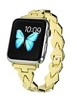 Недорогие -Ремешок для часов для Apple Watch Series 5 / Apple Watch Series 4/3/2/1 Apple Классическая застежка Нержавеющая сталь Повязка на запястье
