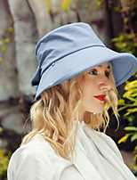 cheap -Headwear Casual Cotton Hats with Bowknot 1pc Casual / Daily Wear Headpiece