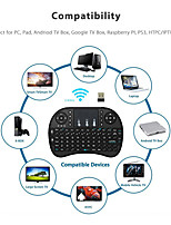 cheap -2.4G Wireless Mini Keyboard with Touch Pad Remote Control for PC Laptop Android TV Box Smart TV for Raspberry Pi 4 Model B 3B 2B