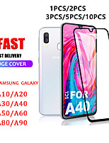 cheap -1PCS/2PCS/3PCS/5PCS/10PCS Tempered Glass Screen Protector For Samsung galaxy A40 A50 A10 A20 A70 A30 Protective glass Full Cover Galaxy A10 A40 A50 Glass