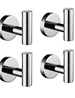 cheap -Robe Hook New Design / Adorable / Creative Contemporary / Modern Low-carbon Steel / Stainless Steel / Iron / Metal 4pcs - Bathroom Wall Mounted
