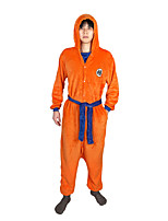 cheap -Inspired by Dragon Ball Son Goku Anime Cosplay Costumes Japanese Sleepwear Costume For Men's Women's