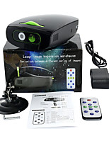 cheap -Mini Laser Light Voice Controlled Disco KTV Party DJ Flash Christmas Snowflake Film Projection Lamp