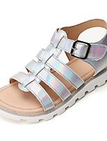 cheap -Girls' Comfort PVC Sandals Little Kids(4-7ys) Silver / Silver Summer