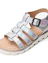 cheap -Girls' Sandals Comfort PVC Little Kids(4-7ys) Silver / Silver Summer