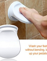 cheap -Bathroom Foot Rest Shower Non-slip Wash Step Placement Mats Shaving Auxiliary Holder Help Old Man Children Balance Tools