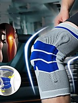 cheap -1PCS Fitness Running Cycling Knee Support Braces Elastic Nylon Sport Compression Knee Pad Sleeve for Basketball Volleyball